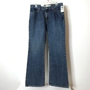 Gap Low Rise Flare Jeans Size 10 Regular New